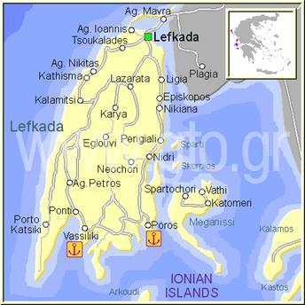 ostrvo lefkada mapa LEFKADA 2018, Lefkada Grcka, Lefkada Leto 2018, Lefkada apartmani  ostrvo lefkada mapa
